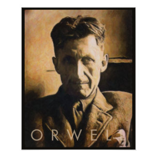 George Orwell Poster