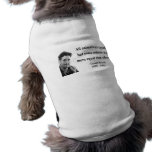 George Orwell Quote 3b Dog Clothing