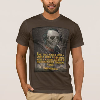 George Orwell Quote on Wartime Propaganda T-Shirt
