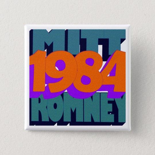 George Orwell's 1984 15 Cm Square Badge