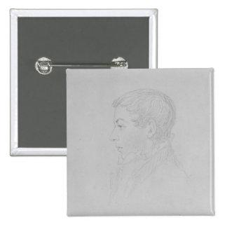 George Parker Bidder, 1819 15 Cm Square Badge