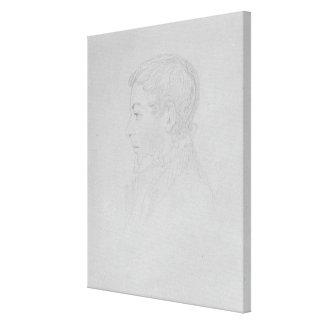 George Parker Bidder, 1819 Canvas Print