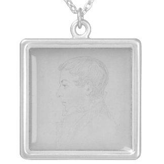 George Parker Bidder, 1819 Silver Plated Necklace