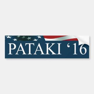 George Pataki 2016 Bumper Sticker