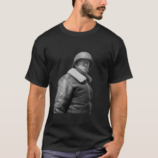 George Patton and quote - Black an... - T-Shirt