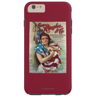George Ringler & CO. Beer Poster Tough iPhone 6 Plus Case