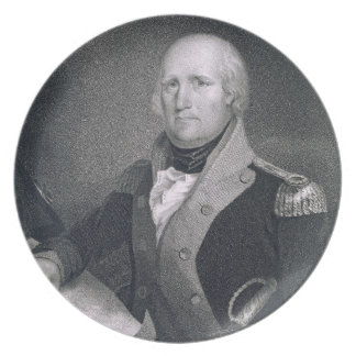 George Rogers Clark (1752-1818) engraved by Thomas Plate