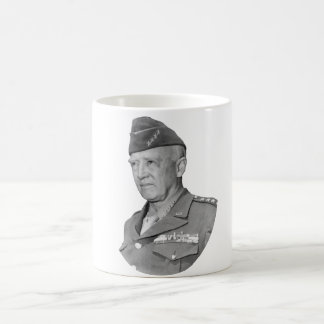 George S. Patton Basic White Mug