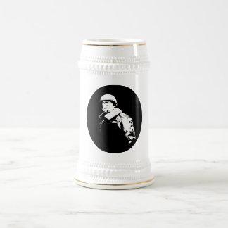 George S. Patton Jr. Beer Steins
