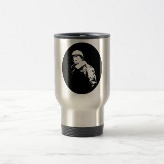 George S. Patton Jr. Stainless Steel Travel Mug