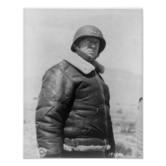 George S Patton Poster
