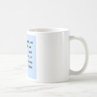 george s patton quote basic white mug