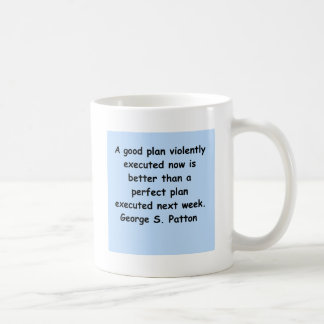 george s patton quote coffee mug