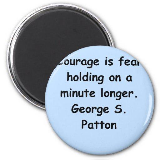 george s patton quote fridge magnet