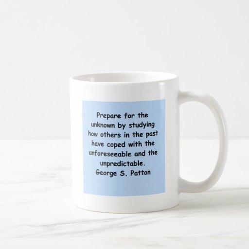 george s patton quote coffee mug