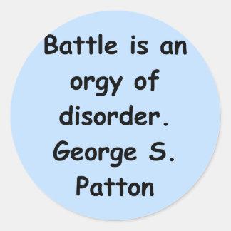 george s patton quote sticker