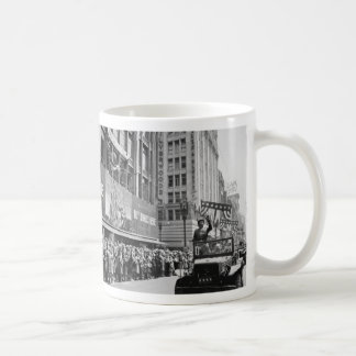 George S. Patton Waving at a Welcome Home Parade Mug