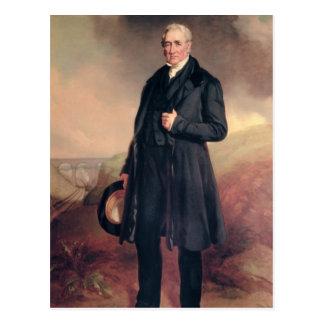 George Stephenson Postcard