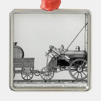 George Stephenson's Locomotive, 'Rocket', 1829 Christmas Ornament