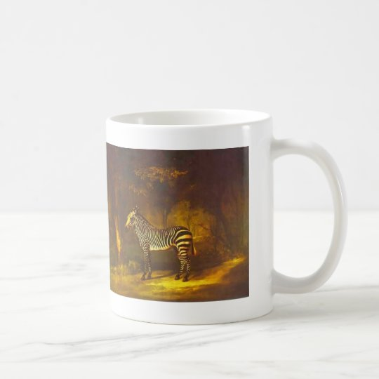 George Stubbs- Zebra Coffee Mug