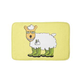 George the sheep bath mats