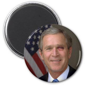 George W. Bush 6 Cm Round Magnet