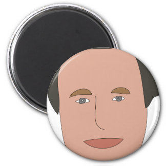 George W Bush 6 Cm Round Magnet