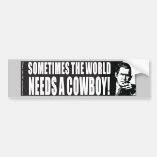 George W Bush Bumper Sticker