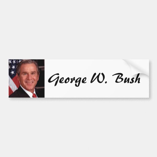 George W Bush Bumper Stickers