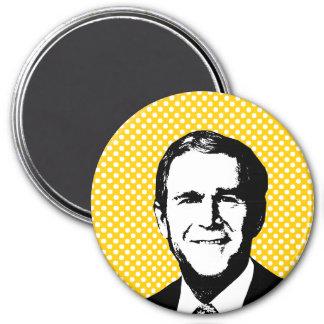George W Bush Gear Magnet
