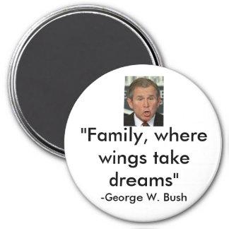 George W. Bush 7.5 Cm Round Magnet