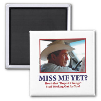 George W. Bush Fridge Magnet