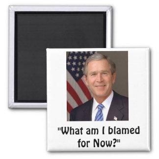 George W. Bush Magnet