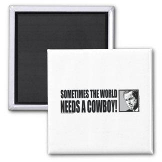 George W Bush Fridge Magnet