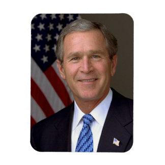 George W. Bush official portrait Magnet