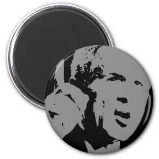 George W Bush silhouette Fridge Magnets