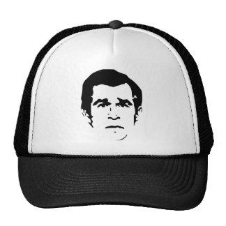 George W. Bush Stencil Cap