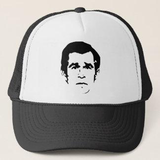 George W. Bush Stencil Trucker Hat