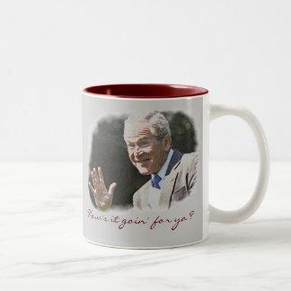 George W. Bush Two-Tone Coffee Mug