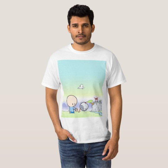 George walking his droid dog T-Shirt