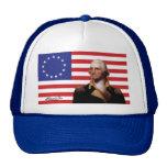 George Washington & 13-Star U.S. Flag Cap