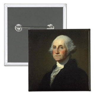 George Washington 15 Cm Square Badge