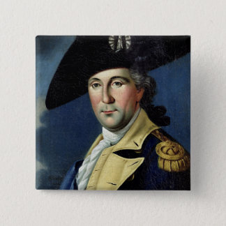 George Washington 15 Cm Square Badge