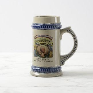 George Washington 1789 Election Stein Mug