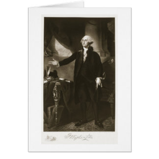George Washington 1st President of the United Sta Greeting Card