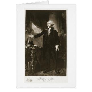 George Washington, 1st President of the United Sta Greeting Card