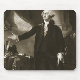 George Washington, 1st President of the United Sta Mouse Pad
