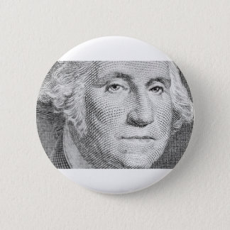 George Washington 2 6 Cm Round Badge