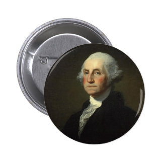 George Washington 6 Cm Round Badge