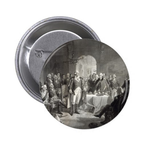 George Washington and His Generals button